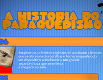 Infográfico: A História do Paraquedismo