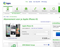 KPN 2012 Various Visual Interaction Design Web