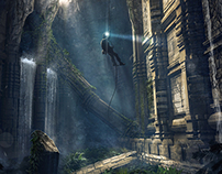 Subterranean temple