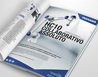 Yaskawa robot HC10 campaign