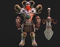 Viking 3D Character Design