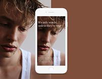 Disarmonist - Website concept design