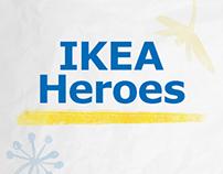 Ikea Heroes Microsite