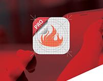 Brandei Logo & App Design