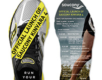 Saucony Kinvara 4 Product Launch