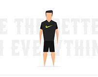 Ilustração - Cristiano Ronaldo