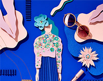 Fashion Papercut