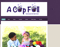 A Cup Full Cupcakes New eCommerce Web Site Aug. 2015