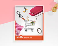 Posters for a home store