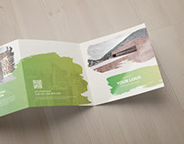 Multipurpose Square Trifold Brochure 10
