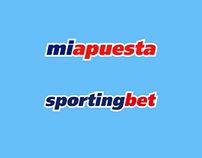 Sportingbet / Miapuesta Banners