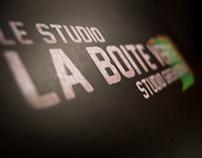 Green screen studio flyer
