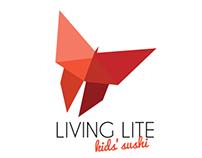 Living Lite: Kid's Sushi Brand Identity
