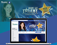 Arab got talent 2017-Facebook App.