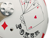 Poker Helmet