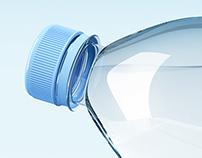Water Bottle Splash