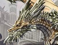 Wyverne de crystal - Core of Legends