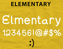 Elementary Typeface