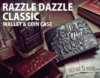 "Filter017"" Razzle Dazzle Classic "" Wallet & Coin Case"