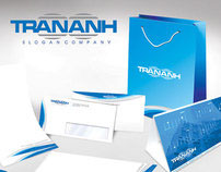 Tran Anh Company stationary