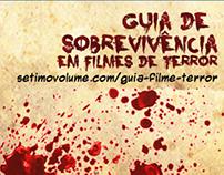 Infográfico: Guia de Sobrevivência em Filmes de Terror