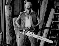 Stihl: Lumberjacks by Nadav Kander