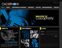 Cacophony website