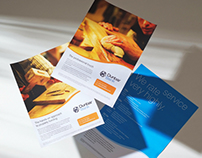 A series of advertising campaigns for Dunbar Bank.