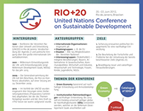 Informational Poster Rio+20 Conference