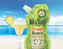 Bob & Stacy's Premium Margarita Pouch design