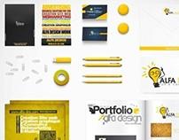 Corporate identity ALFA Design