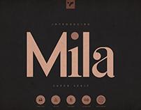 Mila - Innovative Super Serif Font
