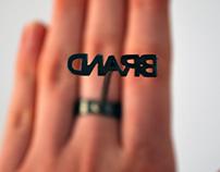 Branding Iron Ring