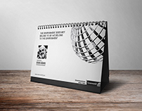 2017 Calendar design for Cross World