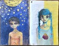 Sketchbook- 2013 school year