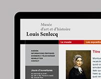 Musée Louis-Senlecq – Site internet