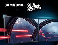 Samsung QLED Gaming Monitors