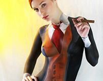 Masculine Bodypainting