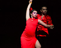 Dance Performing - Salsa Dance in Sinology Festival XIV