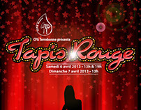 Poster for Tapis Rouge. Client: CPA Terrebonne.