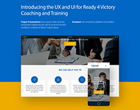 Ready 4 Victory | Webpage Project