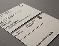 Bureau Braveau – Identity