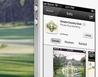 Omaha Country Club iPhone App