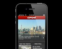 CP24 iPhone App