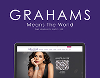 Grahams Jewellers Website