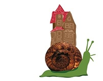 El Caracol: Illustrating children's poems with textures