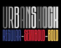 Urbanshock - Condensed Display Sans Serif Font