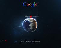 Google TV Travel App Concept