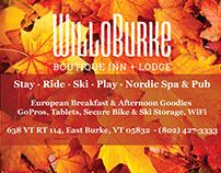 WilloBurke Advertising *logo not my work