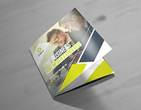 Chevy Corporate Square Trifold